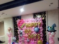 生日宴布置,百日宴布置,气球布置,儿童派对布置,生日气球