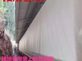 江苏徐州白色透光养猪场专用卷帘布批发,100%防水 耐老化