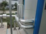 制药厂设备玻璃棉白铁皮保温工程施工队
