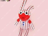 点点兔【响鱼】袜子娃娃手工diy创意玩偶