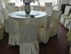 大连地区便宜出售二手的饭店桌椅圆桌,椅子