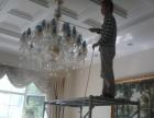 深圳罗湖笋岗新房开荒清洁地毯清洗空调水晶灯清洗护理
