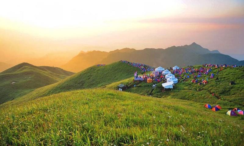 杭州去萍乡武功山旅游