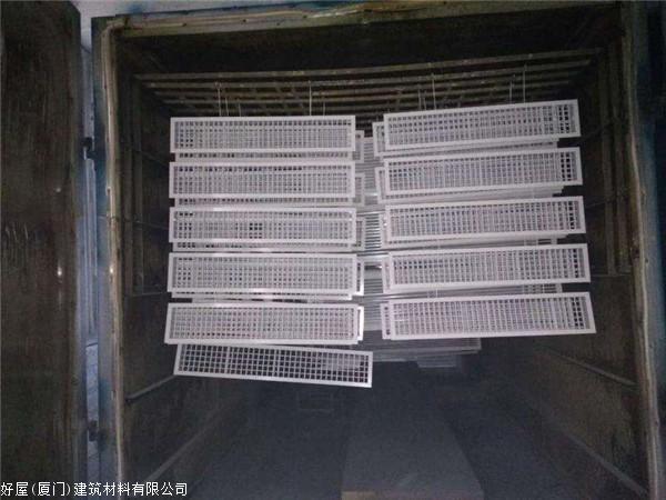【图】专业的铝合金双层图纸出风口制作商--出者头锁百叶甲爆