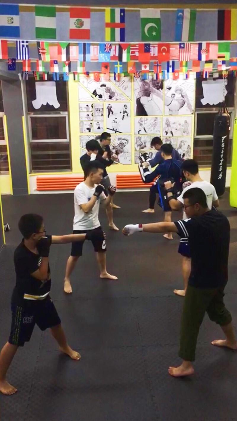 秦皇岛破风搏击俱乐部专业的自由搏击教学