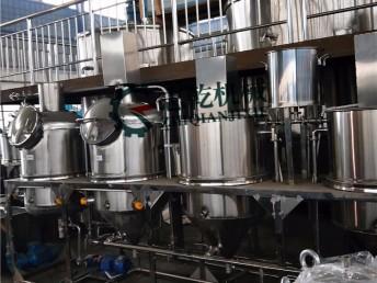 小型食用油精炼机 菜籽油花生油精炼机组 厂家直供