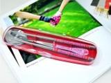 厂家直销便携盒装半花圆筷子勺子套装 韩式餐具套装 创意礼品