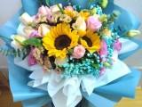 生日花束 开业花篮 婚礼花车 抱抱桶鲜花 玫瑰鲜花礼盒