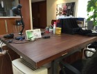 实木松木办公桌+榆木办公桌