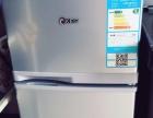 韩电冰箱BCD-101 GM横拉丝,双门小冰箱