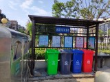 垃圾分类入法飞逸垃圾分类亭厂家加班备货迎接采购高峰