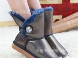 UGG正品雪地靴 皮毛一体雪地靴 欧洲站