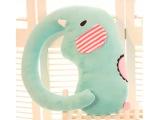 大象抱枕绿小象靠垫抱枕长鼻子大象 毛绒玩具创意公仔 生日礼物