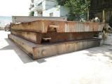 舟山二手地磅 舟山旧地磅回收 岱山嵊泗100吨二手地磅出售