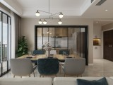 珠江城 107平 北欧风格装修设计
