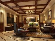 重庆博爵堡别墅装修设计,美式风格