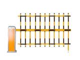 智能停车场系统挡车器三栅栏道闸 精品三栏栅栏道闸挡车器