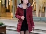 品牌女装尾货服装货源秋冬装棉服呢子羽绒服货源里便宜