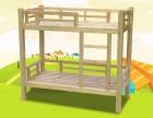 幼儿园宝宝卡通塑料床 儿童塑料床单人双层护栏木板床