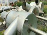 二手冷凝器设备交易价格-二手三效8吨浓缩蒸发器