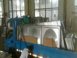 精一泓扬厂家直销青海西宁不锈钢水箱冲压板模压板 保温板