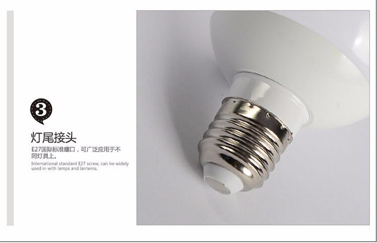 led龙珠泡 E27 节能灯 铝材270度发光 厂家直销