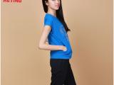 爱天奴2014新款韩版女装批发运动服休闲运动套装女印花短袖两件套