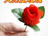火把变玫瑰,近景魔术道具,魔术玩具,婚庆,情人节礼物