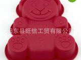 长期供应 硅胶小熊蛋糕模 绝对环保无毒 专业厂家生产 放心使用