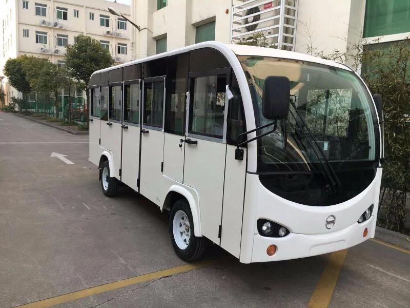 北京故宫游客代步14座电动观光车