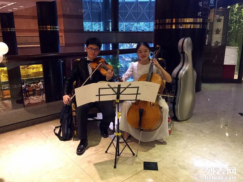 小提琴演出 找音乐学院专业学生