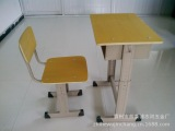 厂家直销单人升降课桌椅
