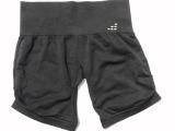 外贸美国BCG 女瑜伽裤运动裤三分裤 无缝一体成型速干