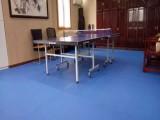 杭州乒乓球塑膠地板銷售 PVC運動地膠