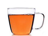 玻璃水杯带把 整套玻璃茶具 耐热玻璃花草茶杯 早餐玻璃杯咖啡杯