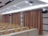 天津窗帘布艺办公室遮光窗帘电动百叶窗会议室窗帘
