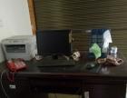 3个电脑桌,办公桌,办公设备低价出售