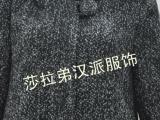 2013冬装新款时尚中褛连帽毛呢大衣外套