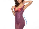 婷美体束身衣蚕丝蛋白塑身衣连体收腹束腰美体产后燃脂塑身内衣