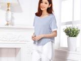 新款韩版外出哺乳衣 喂奶时尚哺乳上衣外出哺乳装  大码女装