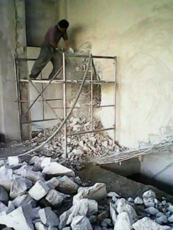 衡阳专业拆除,敲墙 砸墙打地坪 装修拆旧 工程拆除