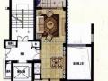 现场实拍罗兰春天精装复式3室2厅家具家电齐全朝南户型
