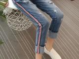 供应江苏牛仔裤批发t哪里有便宜女短裤一件代发牛仔裤尾货批发网
