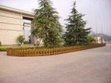 成都雙流優美雅木紋色草坪護欄 花壇圍欄