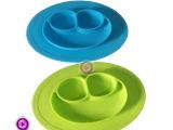 新款 笑脸餐盘 儿童餐盘碗垫 防摔硅胶餐