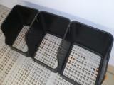 塑料鸭蛋窝 黑色鸭子下蛋窝 塑料蛋窝生产厂
