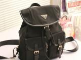 2014新款女士欧美尼龙背包休闲韩版书包时尚旅行旅游双肩女包包潮