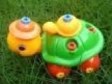 益智儿童产品 时尚3D益智塑料小乌龟玩具