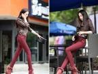 厂家直销韩国时尚女式保暖棉外穿打底裤批发