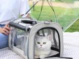 貓包外出便攜寵物貓咪背包斜挎裝貓的小型犬帆布包包單肩貓袋